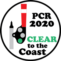 Clear to the Coast 2020  logo
